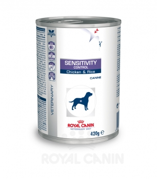 Royal Canin Sensitivity Control Huhn & Reis (24 x420g Dosen)