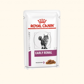 Royal Canin Early Renal Feine Stückchen in Soße 48x85g