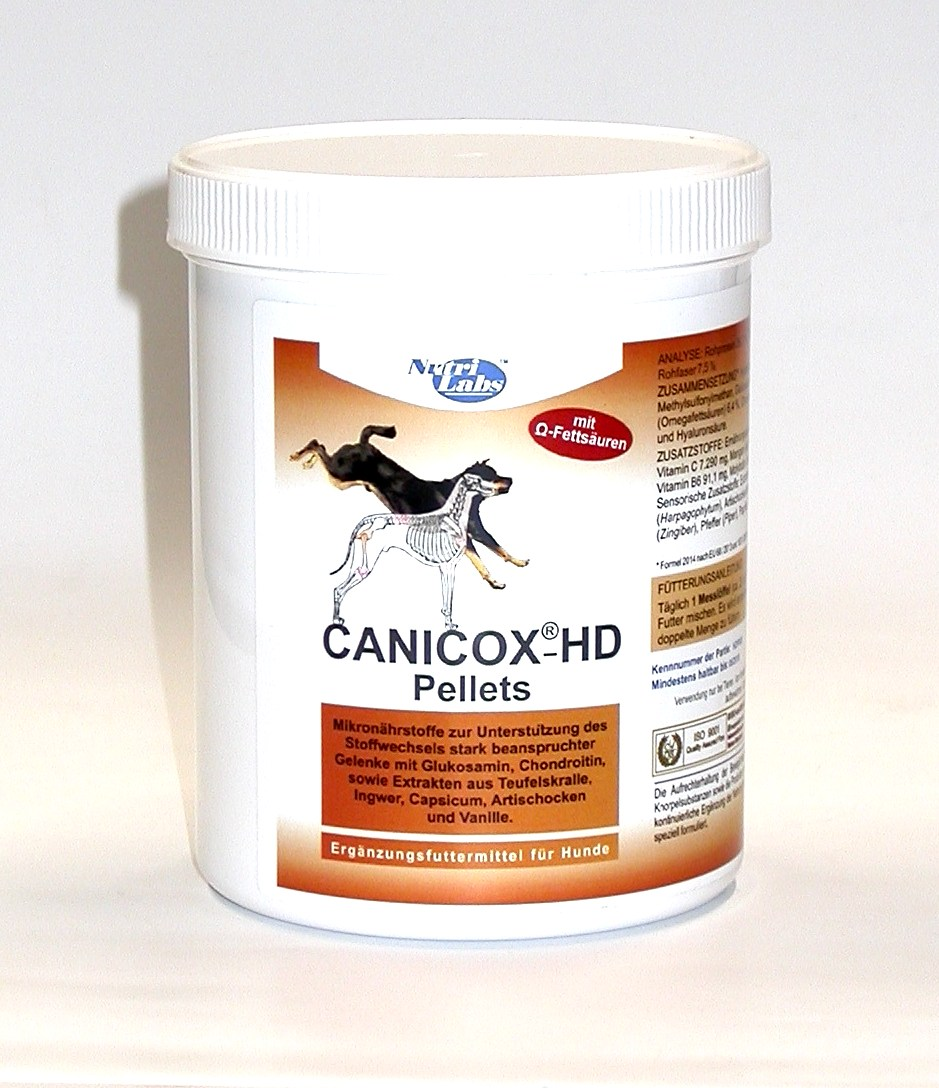 canicox hd pellets 500g pillevet tierapotheke mit haustierarzt. Black Bedroom Furniture Sets. Home Design Ideas